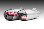 Yoshimura RS-4T Dual Signature Series Slip-On Exhaust System (SS-SS-CF)