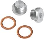 Vance & Hines - 16935 - O2 Sensor Port Plug Kit, 12mm x 1.25
