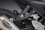 Yoshimura Aluminum Muffler Bracket Kit (Black Powdercoated Aluminum)