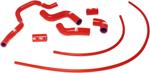 Samco Sport Radiator Hose Kit (Red)