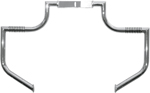 Lindby LINBAR Front Highway Bars (Chrome) Honda 2002-2008 VTX1800C / 2005-2008 VTX1800F