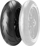 Pirelli Diablo Rosso Corsa Rear Radial Tire 180/60 ZR 17 (75W) TL (Supersport)