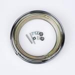 J.W. Speaker Kit 400 Motorcycle Headlight Mounting Kit/Adapter Ring Kit (Chrome) JW 0703351