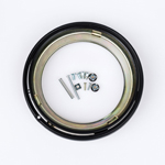 J.W. Speaker Kit 400 Motorcycle Headlight Mounting Kit/Adapter Ring Kit (Black) JW 0703361