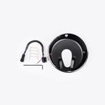 J.W. Speaker Kit 300 Motorcycle Headlight Mounting Kit/Adapter Ring Kit (Chrome) JW 0703431