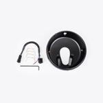 J.W. Speaker Kit 300 Motorcycle Headlight Mounting Kit/Adapter Ring Kit (Black) JW 0703441