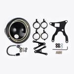 J.W. Speaker Kit 111 Motorcycle Headlight Conversion Kit (Black) JW 0703451