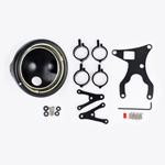 J.W. Speaker Kit 121 Motorcycle Headlight Conversion Kit (Black) JW 0703461