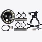 J.W. Speaker Kit 211 Motorcycle Headlight Conversion Kit (Black) JW 0703471