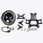 J.W. Speaker Kit 321 Motorcycle Headlight Conversion Kit (Black) JW 0703511