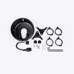 J.W. Speaker Kit 331 Motorcycle Headlight Conversion Kit (Black) JW 0703521