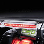 CIRO Center Run/Brake Light For Harley-Davidson Tour-Pak (Chrome) 40004