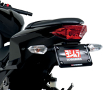 YOSHIMURA Fender Eliminator/License Plate Frame Kit (Black) 2013-2015 Kawasaki Ninja 300