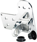 BILTWELL Solution License Plate / Tail Light Bracket Axle Mount Horizontal (Polished)