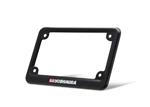 Yoshimura Aluminum License Plate Frame (Black Anodized Aluminum)
