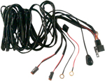 Brite-Lites 2 Light Bar Connector Wiring Harness w/ Switch