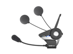 SENA 20S Motorcycle Bluetooth Communication System with Slim Speakers