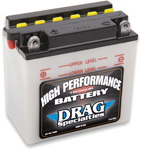 Drag Specialties 12V Conventional Battery (Cross Ref 12N7-4A) 2113-0007