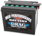 Drag Specialties 12V Conventional Battery (Cross Ref YHD12) 2113-0008
