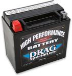 Drag Specialties 12V High Performance Battery (Cross Ref YTX14) 2113-0009