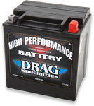 Drag Specialties 12V High Performance Battery (Cross Ref YIX30L) 2113-0010