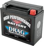 Drag Specialties 12V High Performance Battery (Cross Ref YTX20HL) 2113-0012