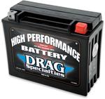Drag Specialties 12V High Performance Battery (Cross Ref YTX24HL) 2113-0013