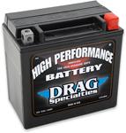 Drag Specialties 12V High Performance Battery (Cross Ref YTX14L) 2113-0014