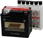 Moose Utility Division AGM Maintenance-Free Battery (Cross Ref YTX5L-BS) 2113-0226