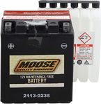 Moose Utility Division AGM Maintenance-Free Battery (Cross Ref YTX14AH-BS) 2113-0235
