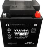 Yuasa Factory-Activated Maintenance-Free AGM Battery (YIX30L-PW) YUAM7230LPW