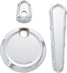 Arlen Ness - 91-114 - Dash Accessory Pack, Beveled - Chrome