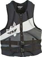 FLY RACING Neoprene Life Vest Jacket (Grey/Black)