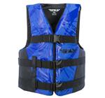 FLY RACING 2017 Nylon Watersports Life Vest Jacket (Blue/Black)