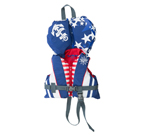 FLY RACING Kids 2017 Nylon Watersports Life Vest Jacket (Red/White/Blue)
