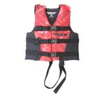 FLY RACING Kids 2017 Nylon Watersports Life Vest Jacket (Red/Black)