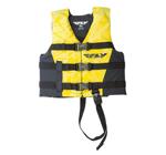 FLY RACING Kids 2017 Nylon Watersports Life Vest Jacket (Yellow/Black)