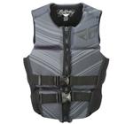 FLY RACING Womens 2017 Neoprene Watersports Life Vest Jacket (Grey/Black)
