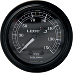 Legend Suspension - Fairing Mounted LED Backlit PSI Gauge (Black)