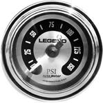 Legend Suspension - Fairing Mounted LED Backlit PSI Gauge (Spun Aluminum)