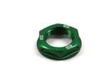 Works Connection Steering Stem Nut Kawasaki (Green) 24-338