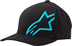 ALPINESTARS Flexfit Hat (Corp Shift 2, Black/Blue)