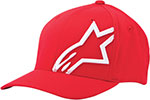 ALPINESTARS Flexfit Hat (Corp Shift 2, Red/White)