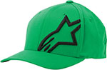 ALPINESTARS Flexfit Hat (Corp Shift 2, Green/Black)