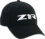 Z1R Snap-Back Curved Bill Hat/Cap (Black)