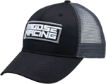 Moose Racing MX Off-Road PERIMETER Curved-Bill Snap-Back Hat/Cap (Black)
