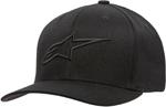 Alpinestars AGELESS Curve Bill Flex Back Hat/Cap (Black/Black)