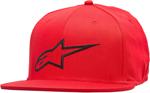 Alpinestars AGELESS Flat Bill Flex Back Hat/Cap (Red/Black)