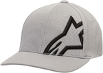Alpinestars CORP SHIFT MOCK MESH Curve Bill Flex Back Hat/Cap (Silver/Black)