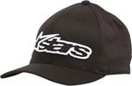 Alpinestars BLAZE Curved Bill Flex Fit Hat (Black/White)
